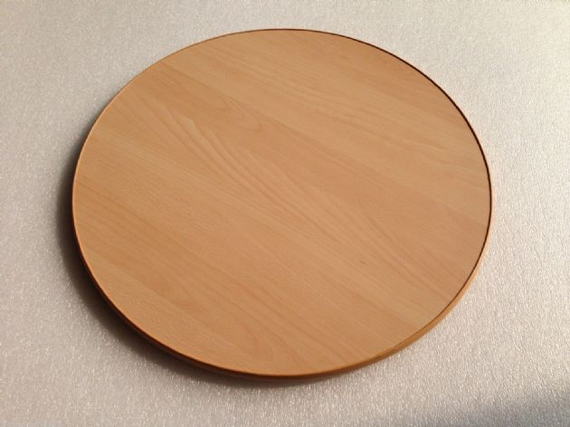 Make to order customized Beech Round Wooden Table Top for Caravan Motorhome - Grasshopper Leisure